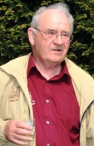 Bernard Holweck lors de notre voyage à EGUISHEIM en avril 2015.