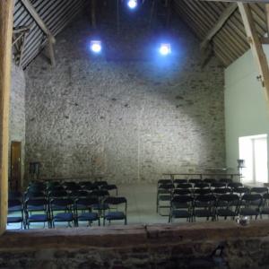 La salle de concert du Chateau de MARCHIN (B)
