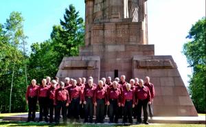 Le C3A à la Nécropole nationale de la Fontenelle le 06-07-2014