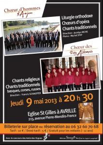 Affiche Concert Avrillé 49