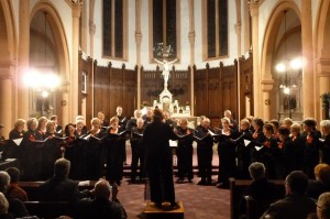 La chorale Choeur et Passions de Villeneuve d'Ascq