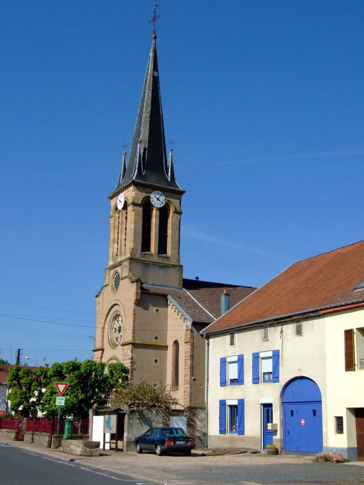 Eglise de Thiaville sur Meurthe