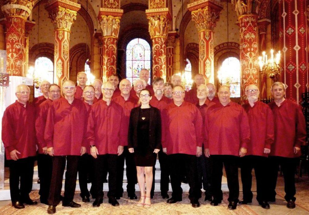 Le choeur des 3 Abbayes à l'abbatiale St Austremoine