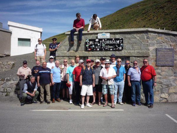 Au cours du voyage en Pyrénées mai 2017