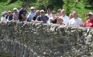 Le choeur des 3 Abbayes dans les Pyrénées