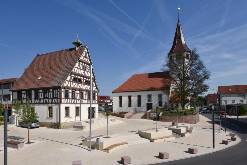 Kollektiv, Oberjettingen, Einweihung Marktplatz, GB-Foto: Vecsey