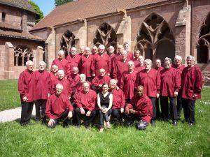 Le choeur des 3 Abbayes à Nompatelize (88)