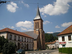 Eglise La Petite Raon 88