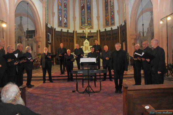 Le choeur Phonéomen de Louvain la Neuve (Belgique)